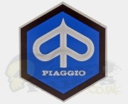 Large Piaggio Emblem Badge - Stick On