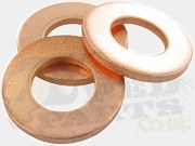 M10 Copper Brake Hose Washer/ Banjo