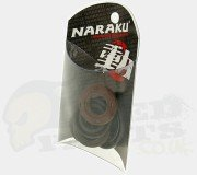 Naraku Crankshaft/ Engine Oil Seals Kit - Piaggio