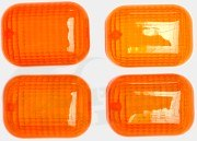 Orange Front & Rear Indicator Lenses - Peugeot Trekker