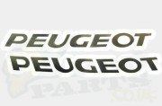 Peugeot Brand Sticker Set