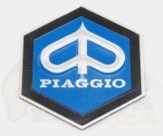 Piaggio Emblem Badge- Aluminium Stick on