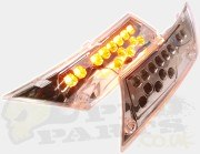 Piaggio Zip Rear LED Indicators (Clear Lexus Style)