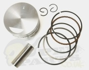 Piston Kit - Piaggio Fly, Vespa LX/S 125cc 4T