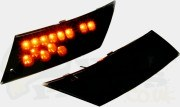 Piaggio Zip Rear LED Indicators (Tinted)