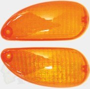 Rear Orange Indicator Lenses-(pair) Typhoon