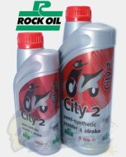City 2 Semi-Synthetic 2 Stroke Oil