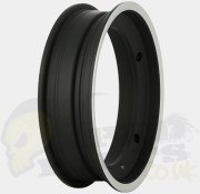 SIP Tubeless 2.50-10 Rim - Black/ Polished