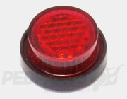 Self-Adhesive Round Number Plate Reflector