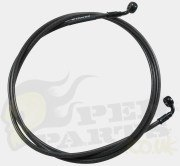 Stage6 Braided Steel Brake Hose - 200mm Rear