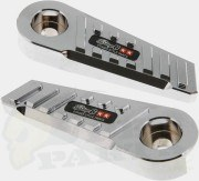 Stage6 CNC SSP Foot Pegs - MBK Booster