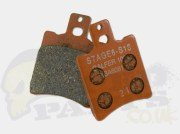 Stage6 Racing S13 Brake Pads (Aerox/ Minarelli) FRONT