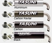 Yasuni Exhaust System End Can/ Silencer - Yasuni R, C16, C20, C21