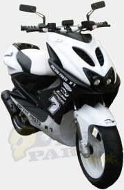 Aerox TNT Racing White Panels Kit