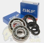 Crankshaft Bearings & Oil Seals- Katana