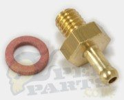 Oil Feed Inlet Pipe/ Tube Nipple (Brass)