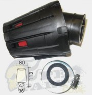 Sports Air Filter (Covered)- Adjustable Angle