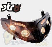 STR8 Quad Headlight incl Indicators - Peugeot Speedfight