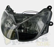 Yamaha Aerox Black Headlight - STR8
